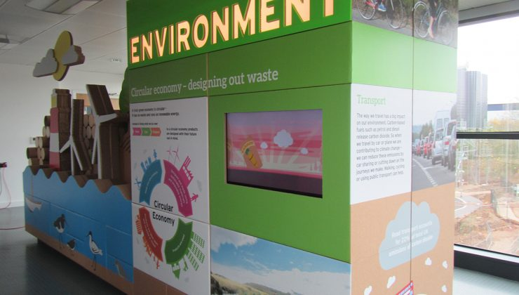 Visitor centre - Environment display